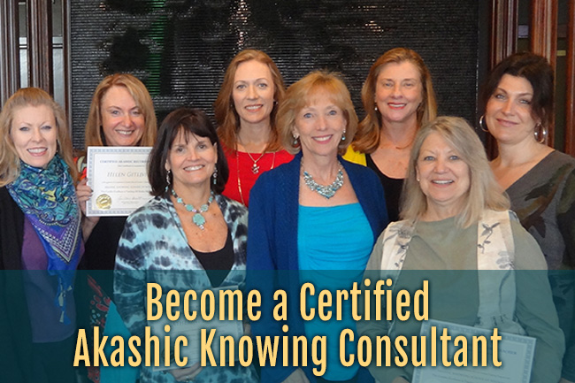 Become a Certified Akashic Knowing Consultant